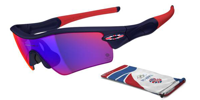 Oakley Team GB Radar Path London 2012 Olympic Games Sunglasses from SelectSpecs - ss621_20_1