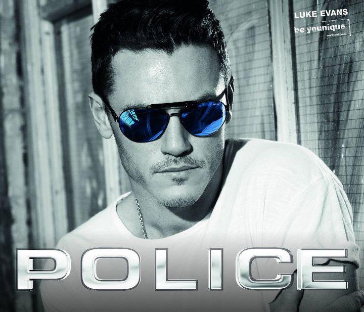 Luke Evans - Police Sunglasses