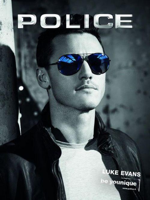 Luke Evans - Police Sunglasses S8299 - Winner of Sunglasses of the Year Award 2012