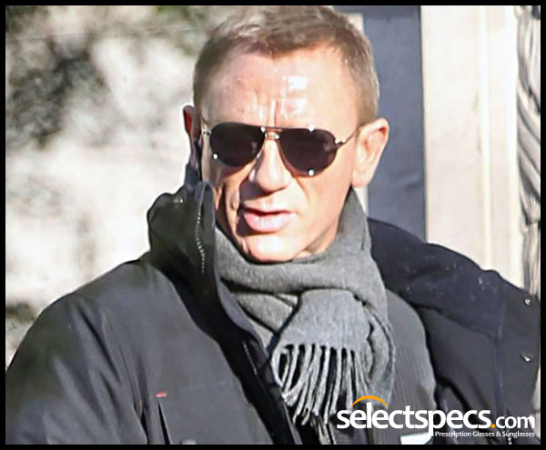 bc3119dbc79 James Bond  Skyfall – Daniel Craig wears Tom Ford Marko Sunglasses ...