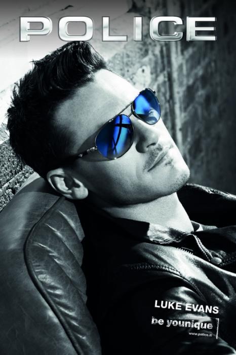 Luke Evans Police Sunglasses