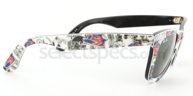 Ray-Ban RB2140-1115 London Print Edition (Side 2) from SelectSpecs.com