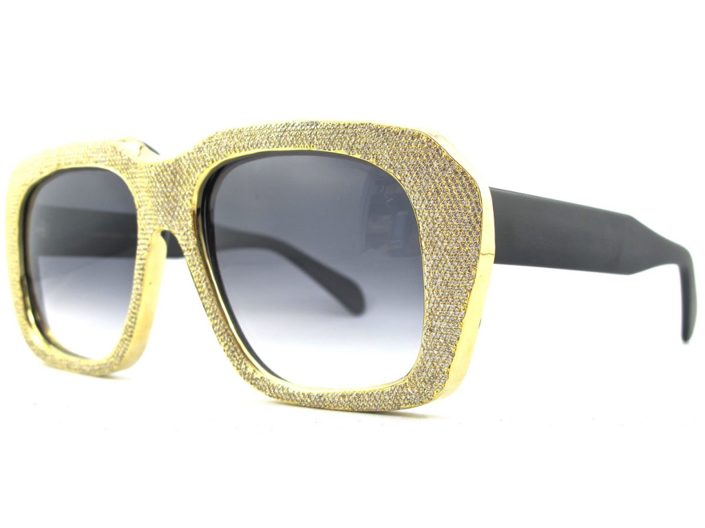 Eyeglass Frames With Diamonds : Summer Bling: Trendy Diamond Sunglasses SelectSpecs ...