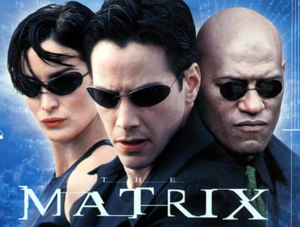 The Matrix - Neo, Trinity and Morpheus in Sunglasses