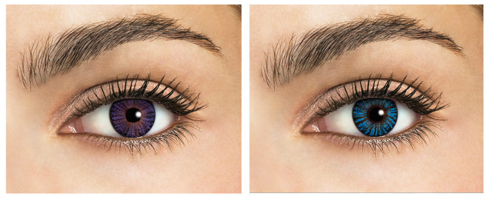 Coloured Contact Lenses for Fashion