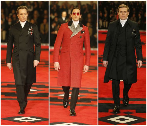 Prada - Men including Gary Oldman, Adrien Brody and Willem Dafoe
