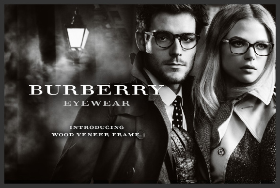 Burberry Eyewear Wood Veneer Frame