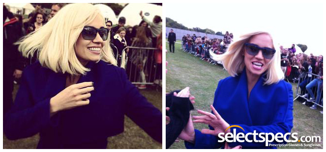 Kimberly Wyatt - Wearing Guess 7108 Sunglasses - Got To Dance (2012)