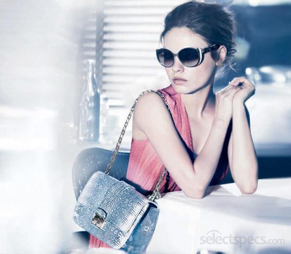 Mila Kunis Dior Eyewear 2012 Spring/Summer campaign wearing DiorSummerSet1 Sunglasses