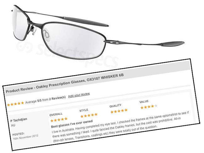 Oakley Whisker 6B Review on SelectSpecs