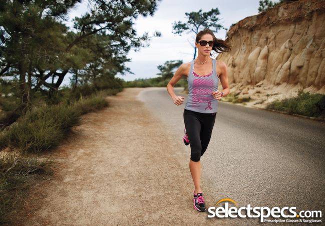 Triathlete Jenny Fletcher Wearing Oakley Overtime Sunglasses from SelectSpecs