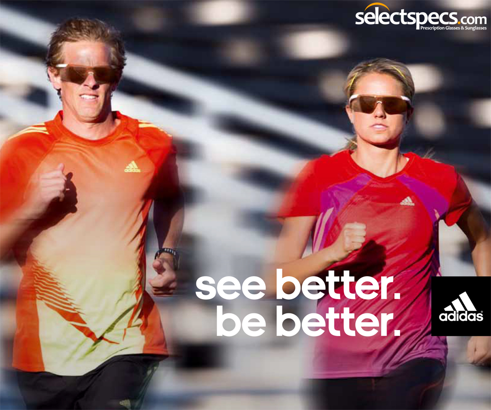 Adidas Sports Sunglasses from SelectSpecs.com