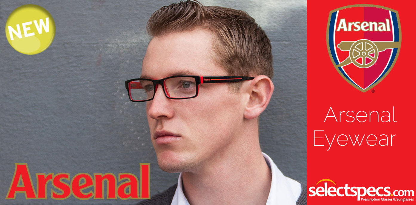 Arsenal Eyewear from SelectSpecs.com