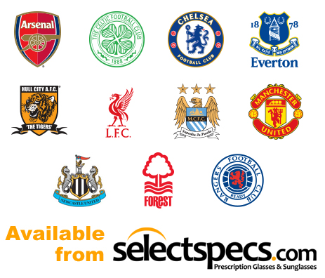 Football Club Logos - from SelectSpecs.com