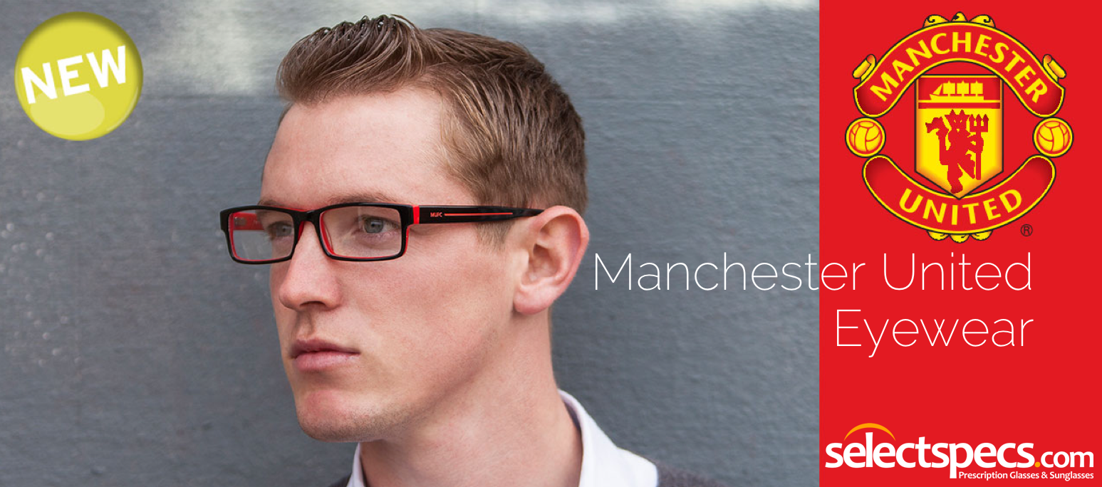 Manchester United Eyewear from SelectSpecs.com