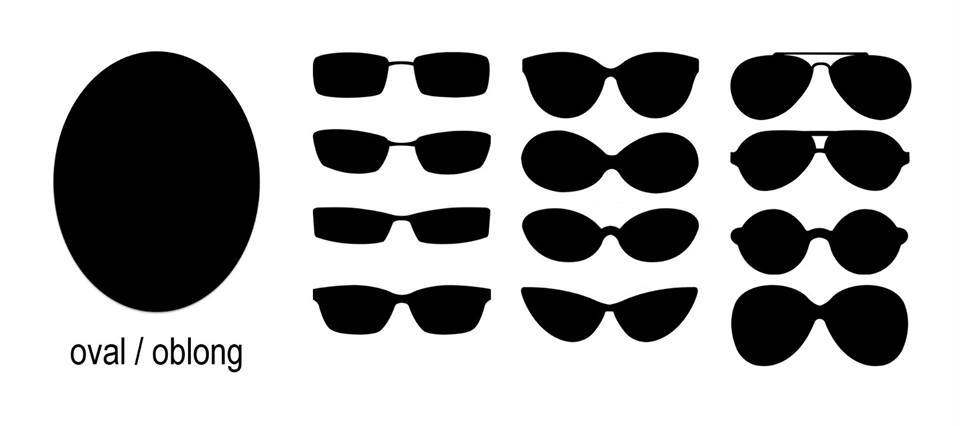 Sunglasses Styles for Oval Face Shapes