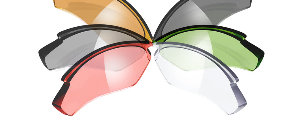 Sunglasses lens colours