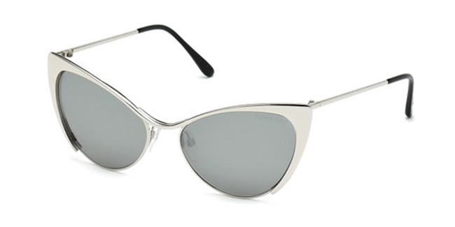 Tom Ford Designer Sunglasses, FT0304 Nastasya in Silver