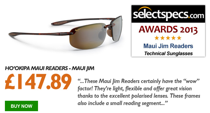 SelectSpecs.com Technical Sunglasses of the Year - Maui Jim Readers