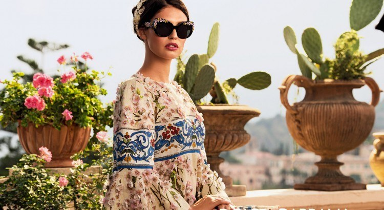 dolce and gabbana sunglasses campaign 2014 Spring Summer women