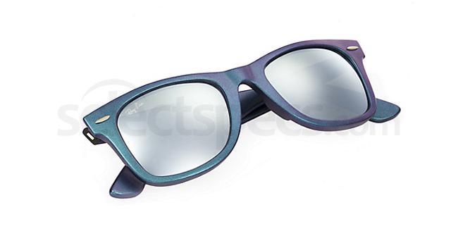 ray ban mercury  these gorgeous planet mercury based sunglasses consist of the stunning metallic azure coloured frame. the metallic hues of green, blue and purple all