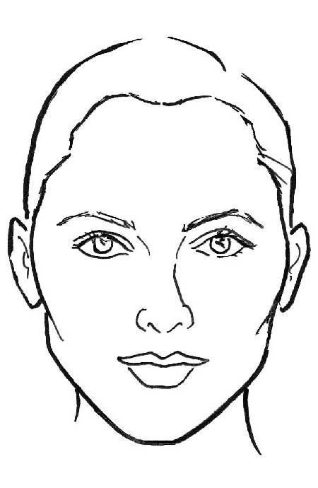 Line Drawing Faces : Choosing the right frames for your face shape