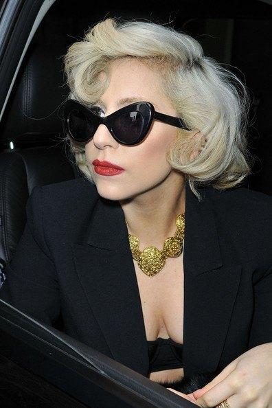 Lady Gaga Sunglasses   CINEMAS 93