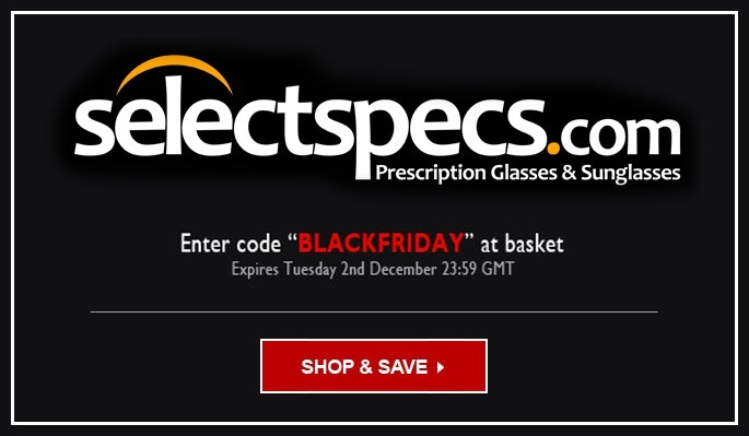 SelectSpecs Black Friday code