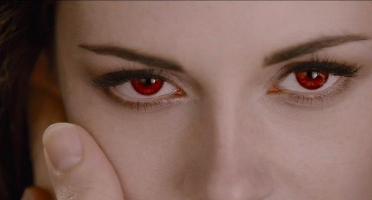 Twilight-red-eye-lenses