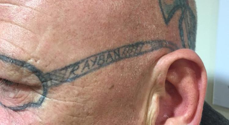 Ray-Ban-sunglasses-tattoo