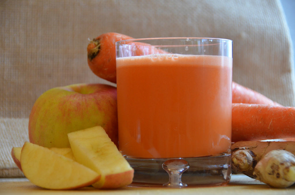 juice recipe for eye sight
