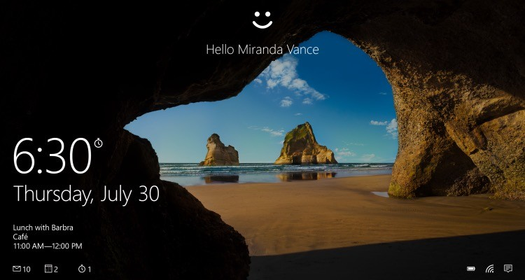 Your Eyes are Your New Password with Windows Hello