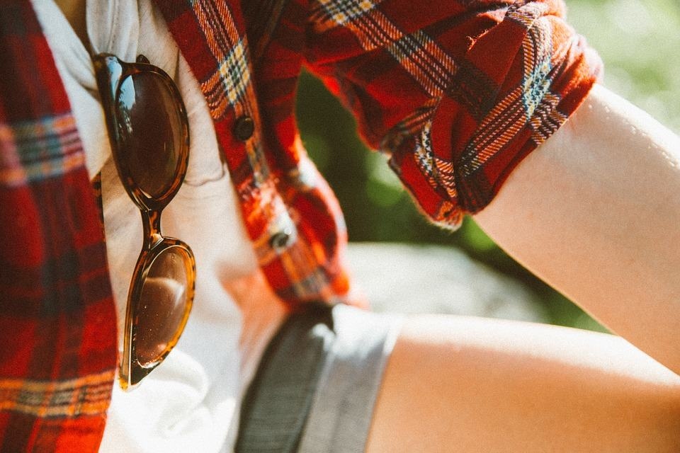 where to put sunglasses when not wearing them