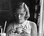 1940's Cat-eye frames
