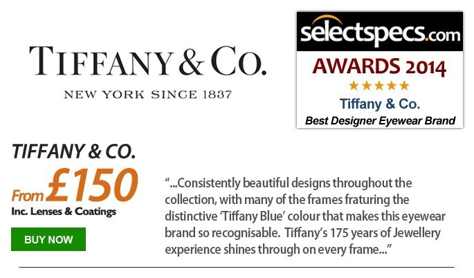 SelectSpecs.com Eyewear Brand of the Year - Tiffany & Co.