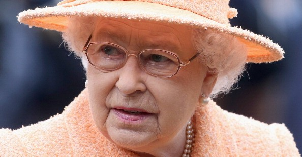 The Queen wearing Silhouette Glasses