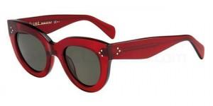 Celine CL 41050_S marvelous red cat eye sunglasses