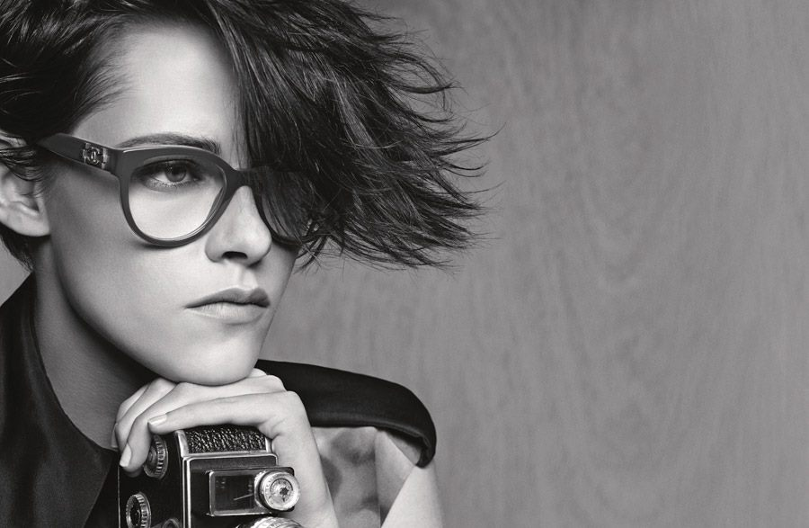 Chanel Eyewear Sunglasses  kristen stewart stuns in chanel s spring summer 2016 eyewear