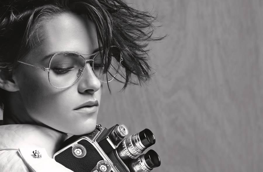 Kristen-Stewart-Chanel-Eyewear-glasses-gold-campaign