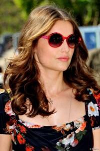 Laetitia-Casta-Circle-Sunglasses