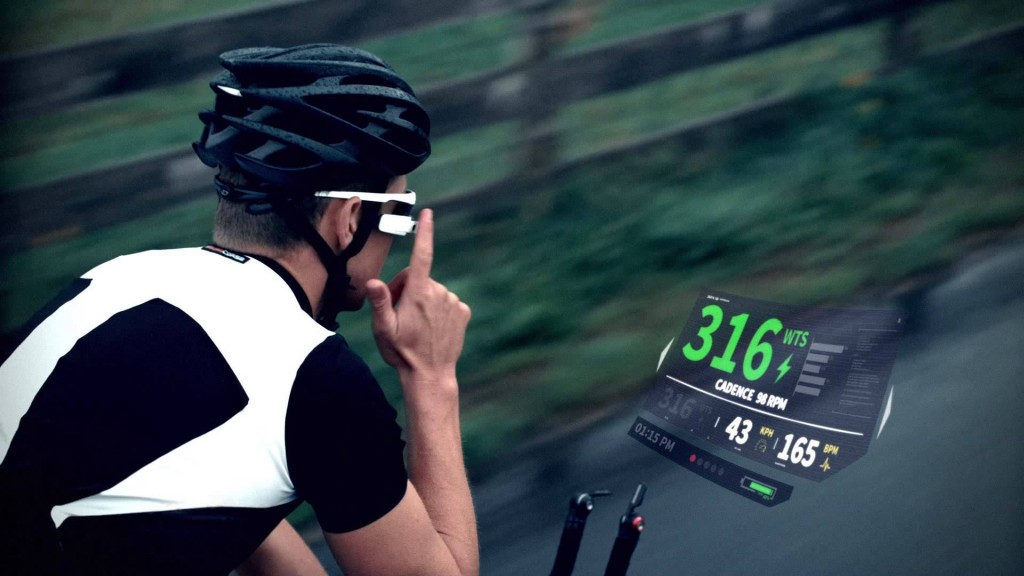 Cyclist-using-Recon-Jet-Smart-Eyewear-in-action