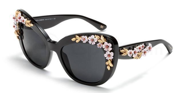 Dolce and Gabbana Almond Flowers Sunglasses