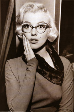Marilyn-Monroe-Cat-Eye-Glasses