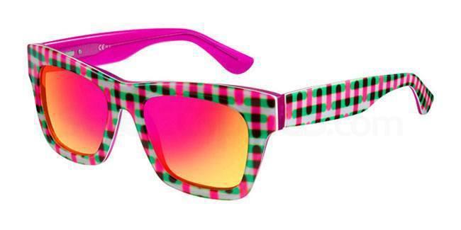 Oxydo 1070 Colourful Checkered Sunglasses