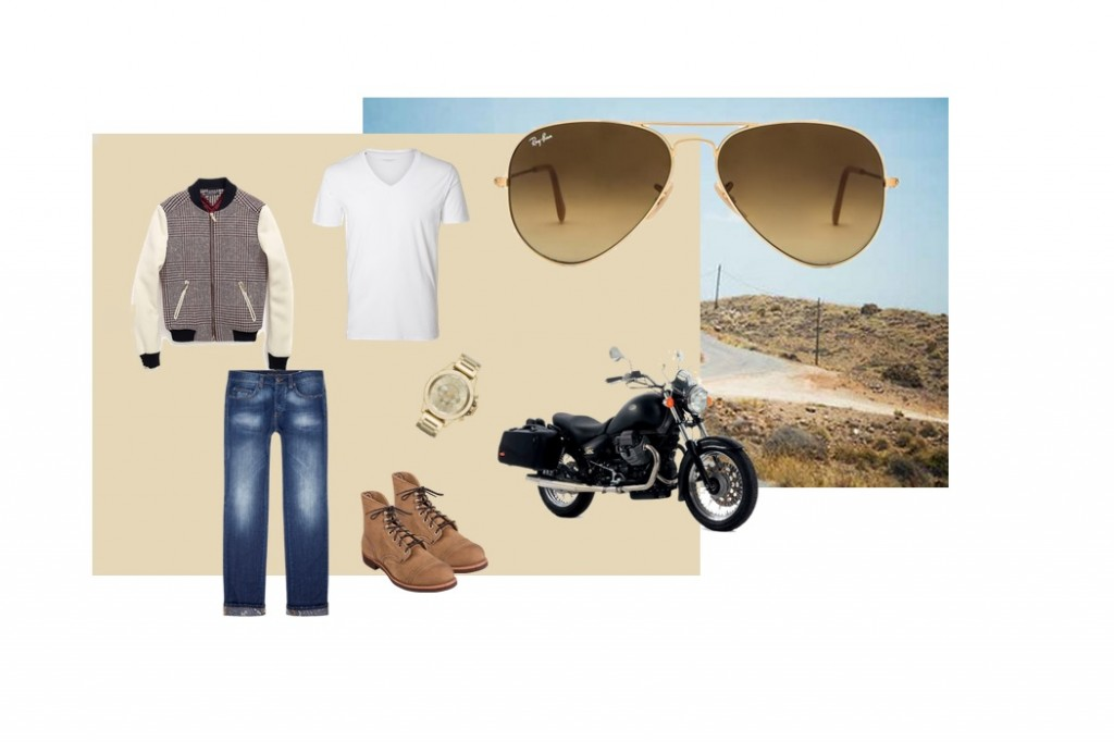 Get-the-look-ray-ban-gold-aviators