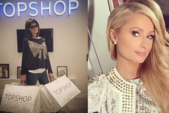 Paris-Hilton-in-Topshop