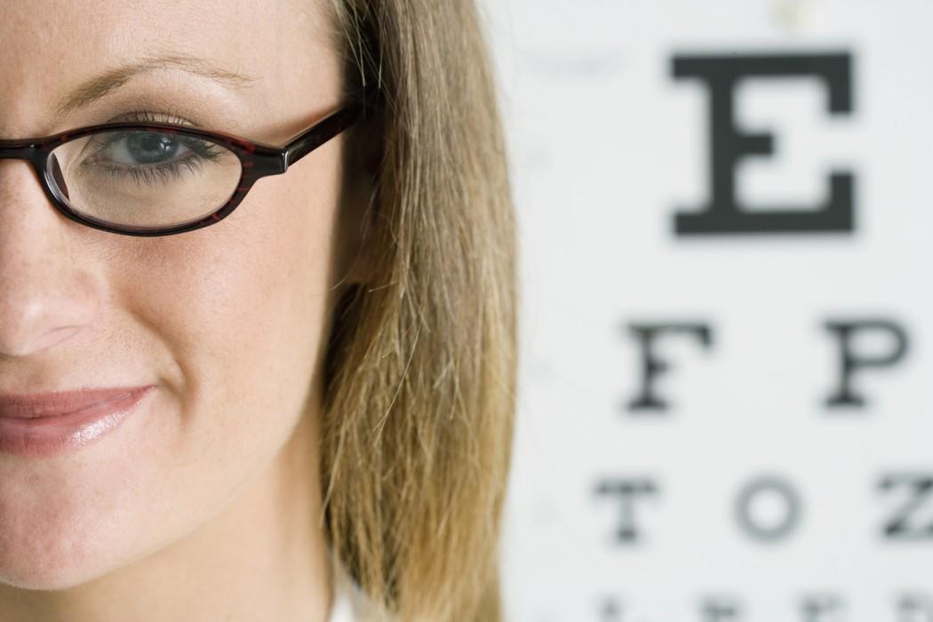 Female-wearing-glasses