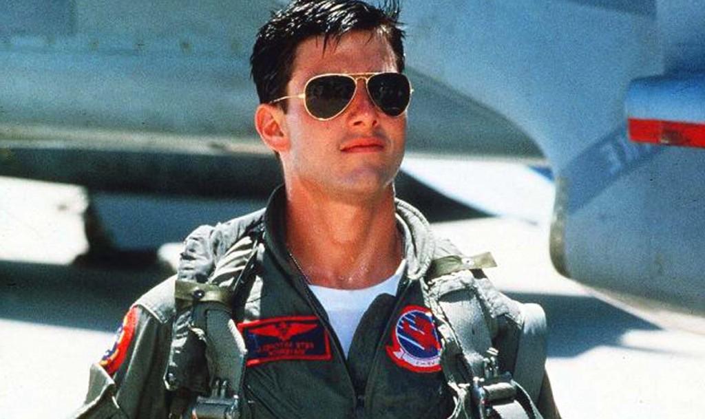 Tom Cruise Ray Ban Sunglasses in Top Gun Movie