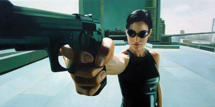 Trinity-the-Matrix-Film-Sunglasses-Gun