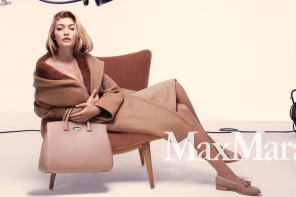 Gigi Hadid Models for Max Mara